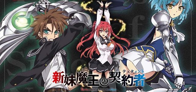 animetvn.com Shinmai Maou no Keiyakusha 2 30 Rekomendasi Anime Harem Terbaik