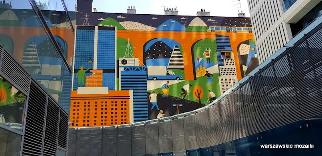 Warszawa Warsaw mural graffiti street art streetart Wola