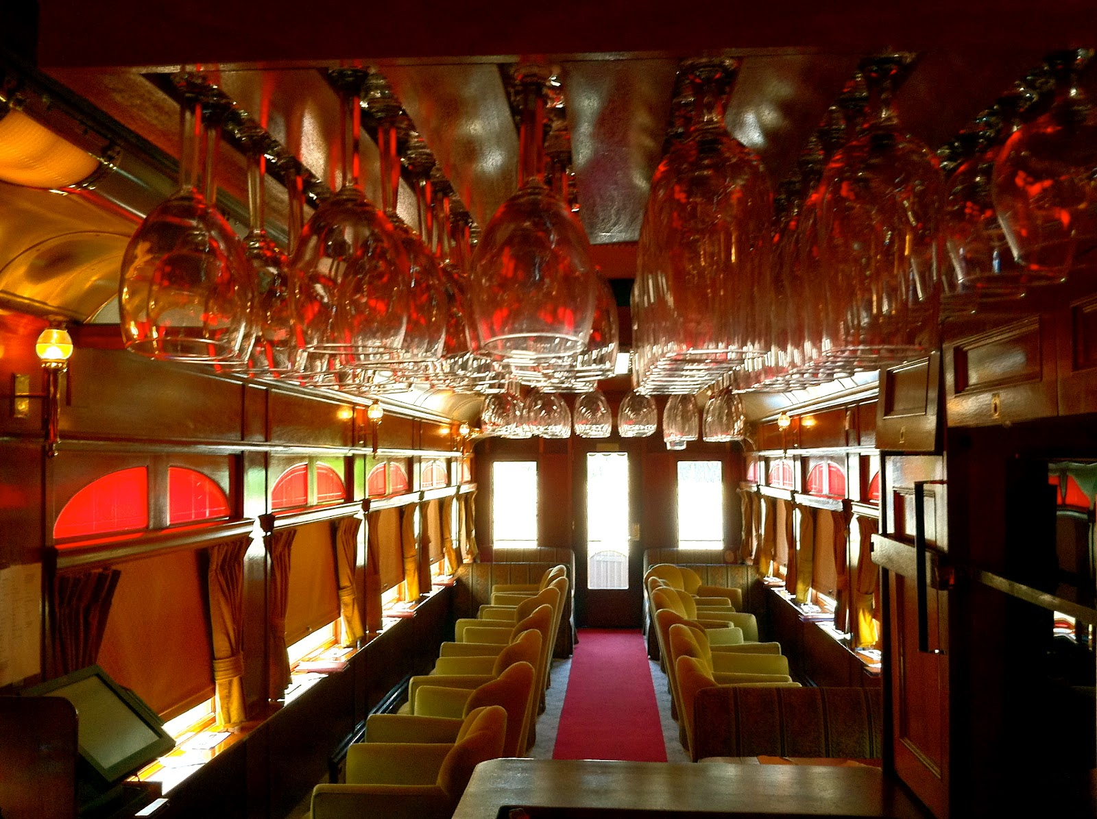All Aboard The Napa Valley Wine Train The World Of Deej