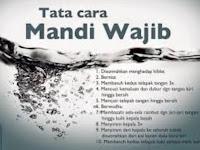 Cara Niat & Bacaan Doa Mandi Wajib Setelah Haid