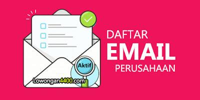 Daftar Alamat Email Perusahaan - Random Email 2021