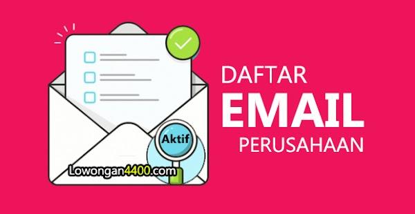 Daftar Alamat Email Perusahaan - Random Email 2020