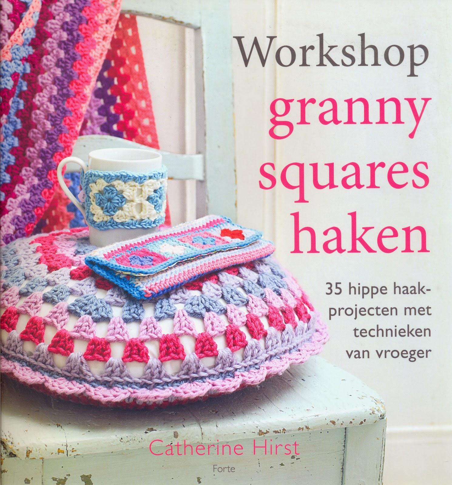De Haakbaak Workshop Granny Squares Haken Boekverslag