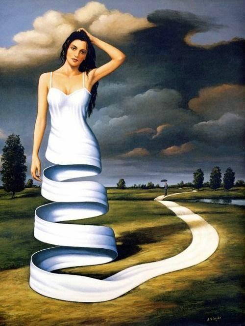 Examples of surrealism art.