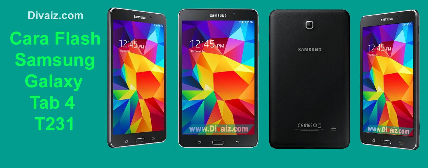 Cara Flash Samsung Galaxy Tab 4 7.0 SM-T231 Firmware Bahasa Indonesia