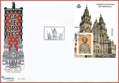 Sobre PDC hoja bloque catedral de Santiago