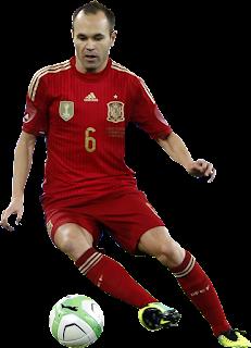 Andres Iniesta - Spanyol #2