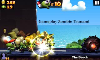 Zombie Tsunami Mod Apk Unlimited Coins