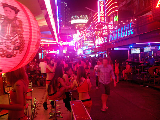 Bangkok Nightlife Soi Cowboy