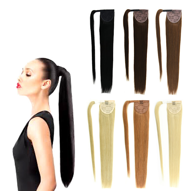 Ponytail Human Hair Extension