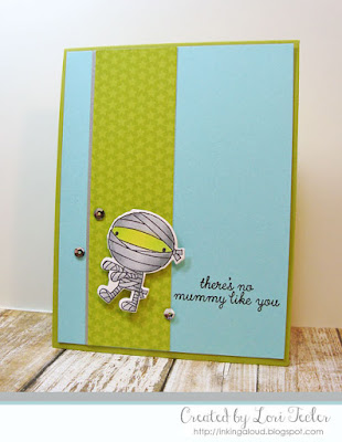 There's No Mummy Like You card-designed by Lori Tecler/Inking Aloud-stamps and dies from Reverse Confetti