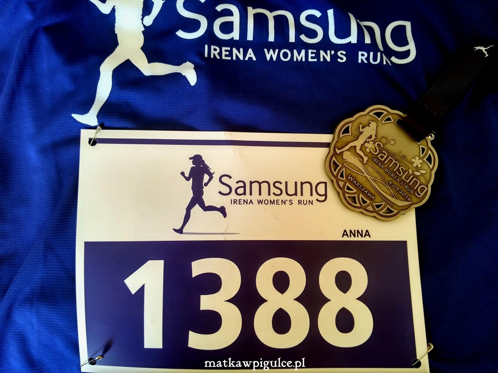 bieg samsung, blog biegającej mamy, biegi w warszawie, odchudzanie a bieganie