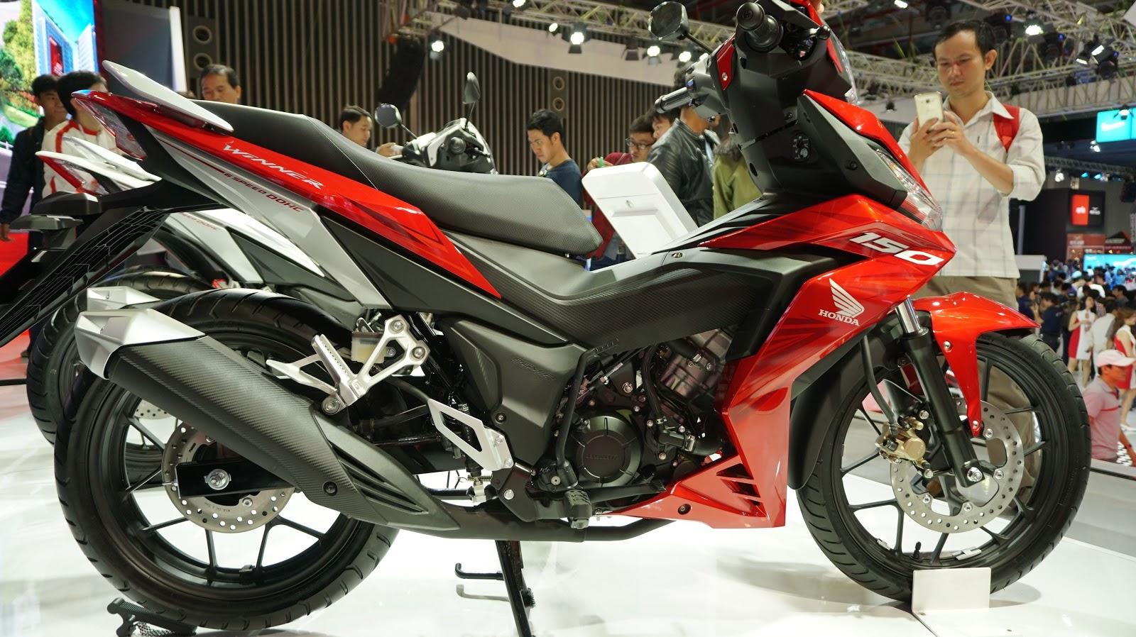 Honda Winner 150 dự sẽ định vị lại phân khúc côn tay trong thời gian tới
