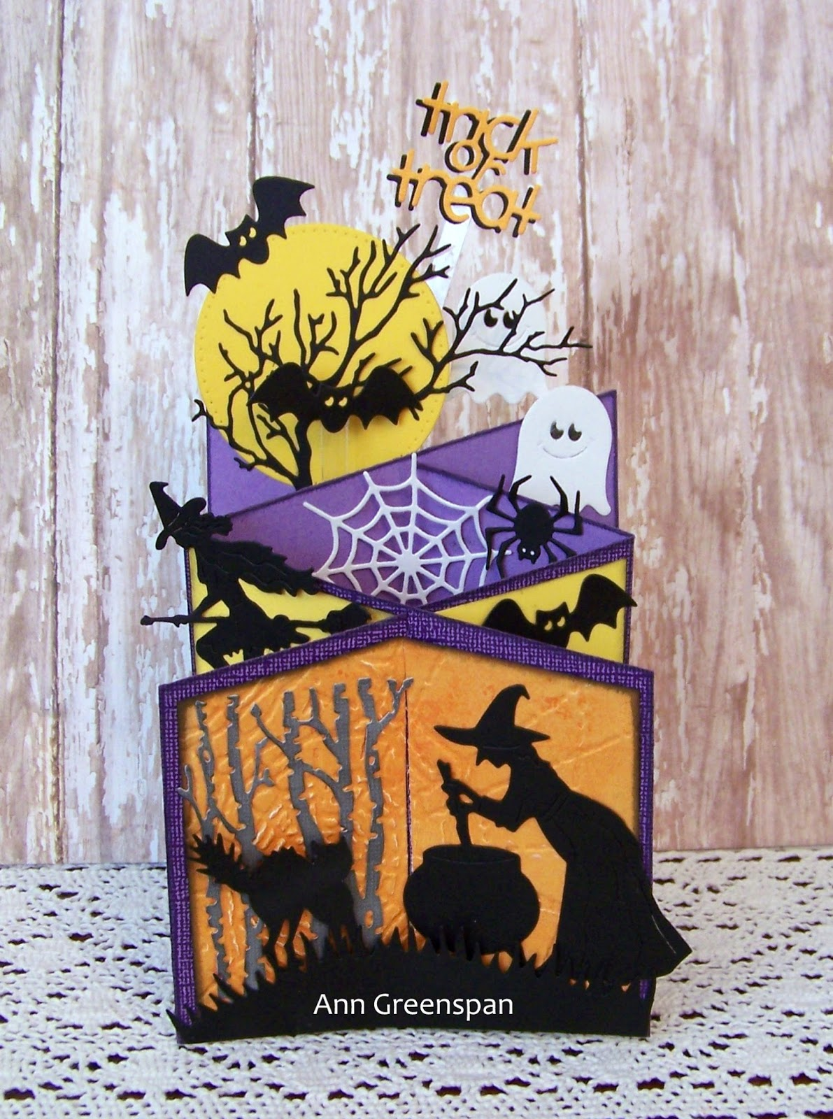 Dies r us cascading halloween a2 card tutorial cascading halloween a2 card tutorial m4hsunfo