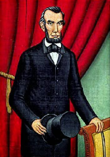 Abraham Lincoln - Grandes personalidades pintada por Marc Burckhardt