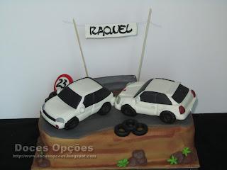 Os carros da Raquel