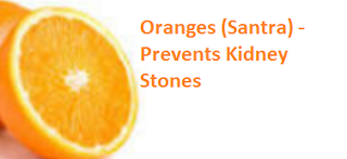 Oranges (Santra) -  Prevents Kidney Stones