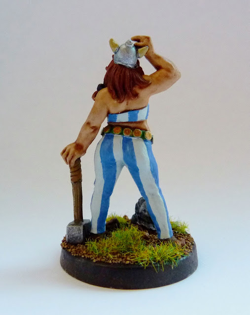 Tilda - (female Obelix) - from Hasslefree Minatures