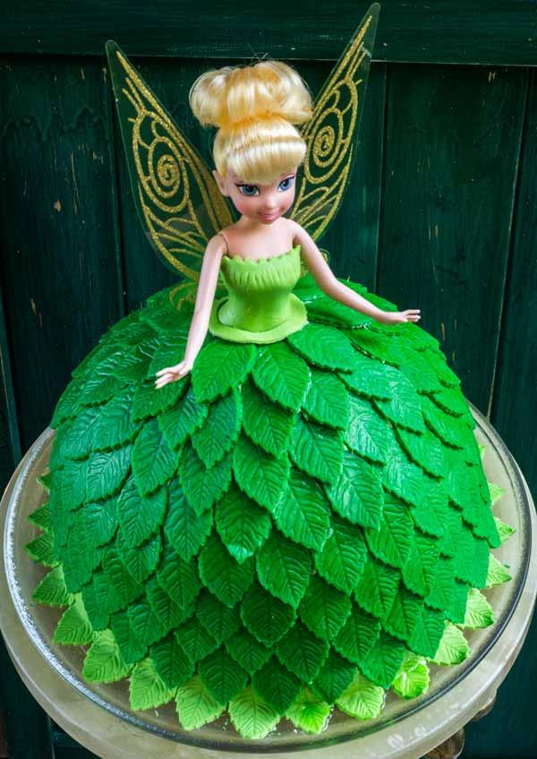 Birthday Cakes Of Tinkerbell