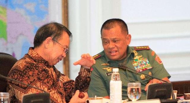 Begini Jawaban Panglima TNI saat Ditanya Soal Senjata Impor Polri