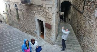 Girona, barrio medieval del Call o barrio Judío.