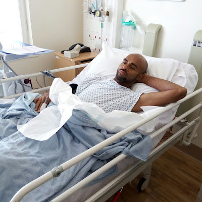 Update on the health condition of Actor Leo Mezie (Photos)