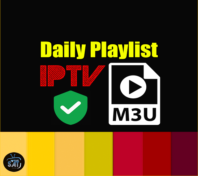 IPTV Daily Playlist M3u Links 25-07-2019