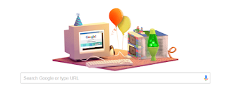 Hari Ini Google Ulang Tahun Ke-17 Pada Tanggal 27 September 2015 cover