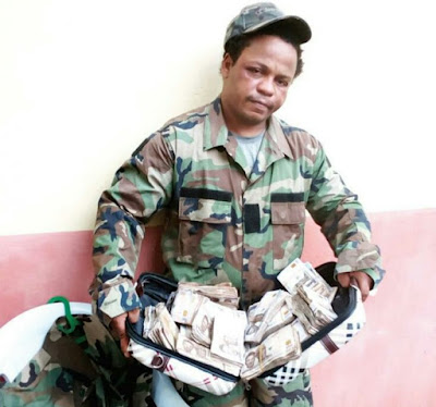 Man Dismissed By US Army Nabbed In Owerri Defrauding People
