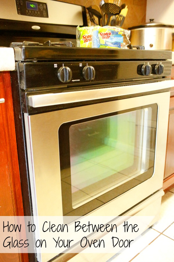 How To Clean Between The Glass In Your Oven Door Without Using Any Harsh  Chemicals.
