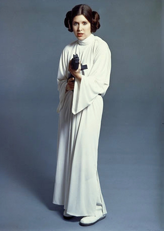 Carrie Fisher Just Laughs