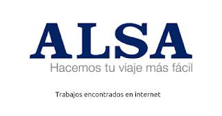 Ofertas de empleo en Alsa