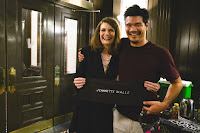 Destin Daniel Cretton and Jeannette Walls on the set of The Glass Castle (10)