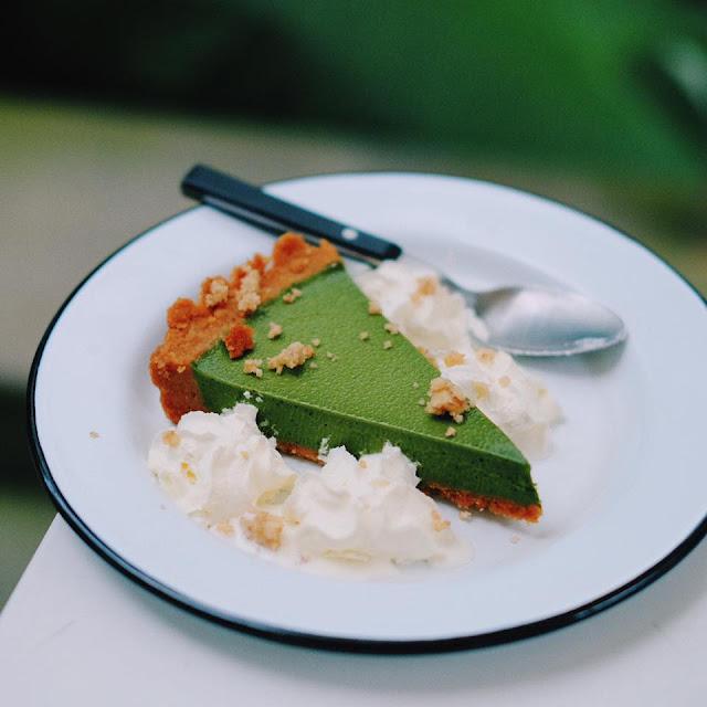 Matcha Pie