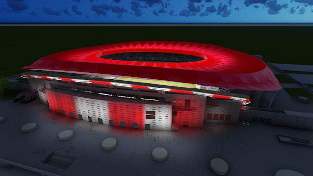 El Wanda Metropolitano optará a la final de la Champions League de 2019