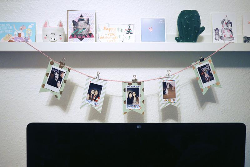 KuneCoco • DIY • Polaroid Wimpelkette