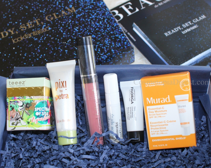 Review and contents of the LookFantastic Beauty Box for November 2017, themed Ready, Set, Glam. Ships worldwide.