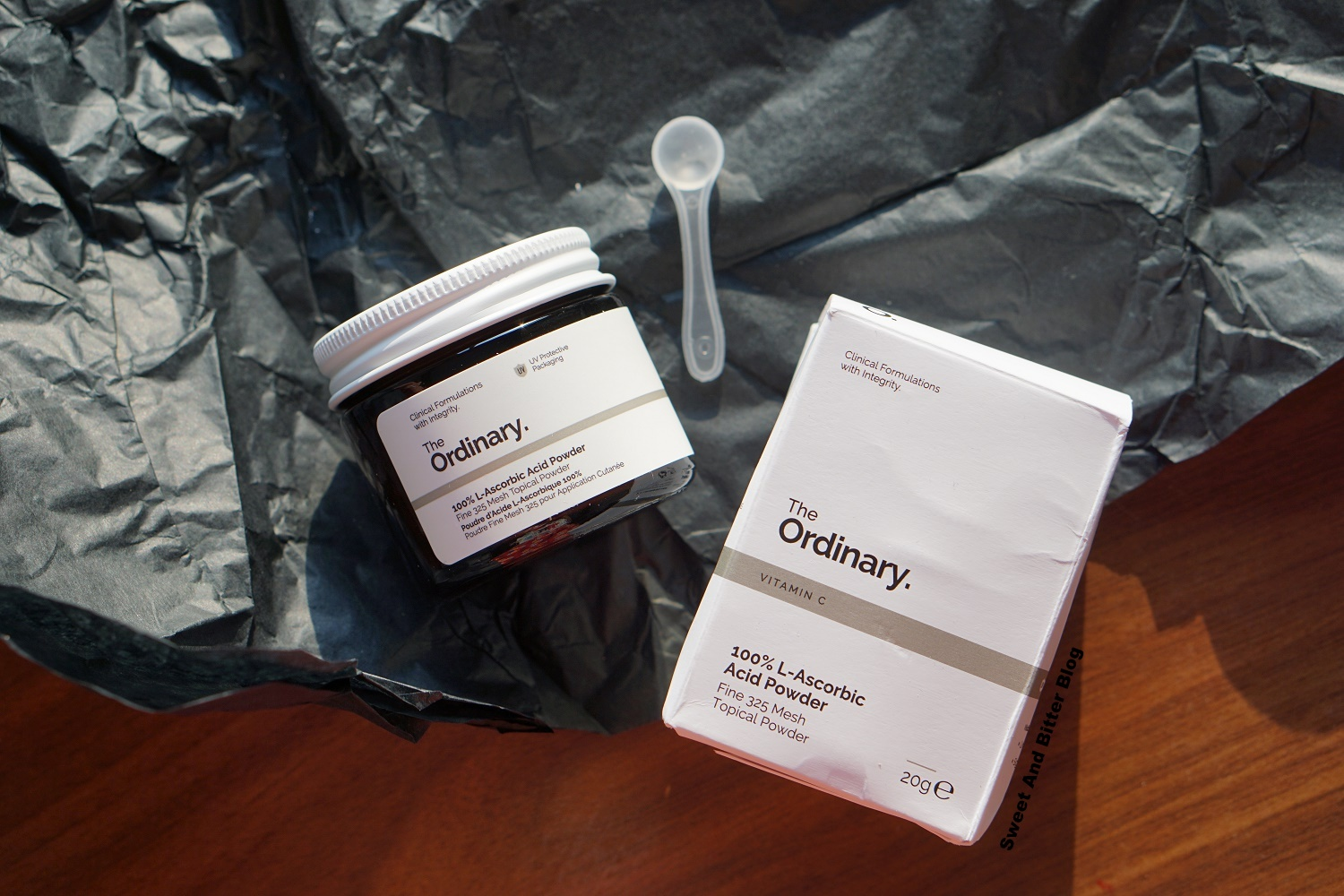 The Ordinary L- Ascorbic Acid Powder Review Indian Skin