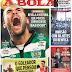 Reportagem sobre Bas Dost, no jornal A BOLA de hoje. #SportingCP #BasDost