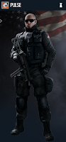 Portrait of Pulse - Rainbow Six Siege Operator