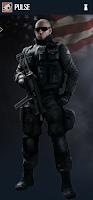 Portrait of Pulse - Rainbow Six Siege Operator