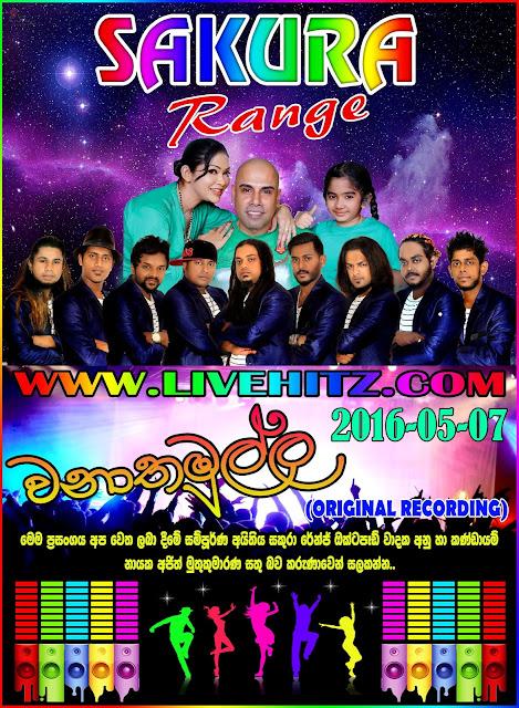 SAKURA RANGE LIVE IN WANATHAMULLA 2016-05-07