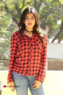 Actress Hebah Patel Stills in Blue Denim Jeans at Nanna Nenu Naa Boyfriends Movie Success Meet  0049.JPG