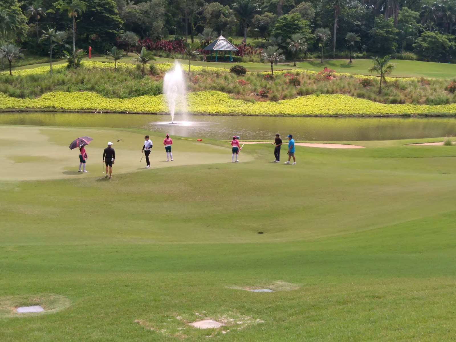 Golf Seru, Golf Asyik, Kompetisi Golf