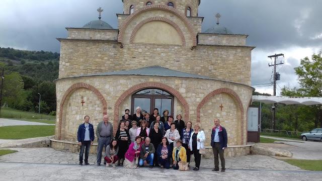 Την Ιερά Μονή Βαζελώνος επισκέφθηκαν προσκυνητές από την πόλη της Βέροιας