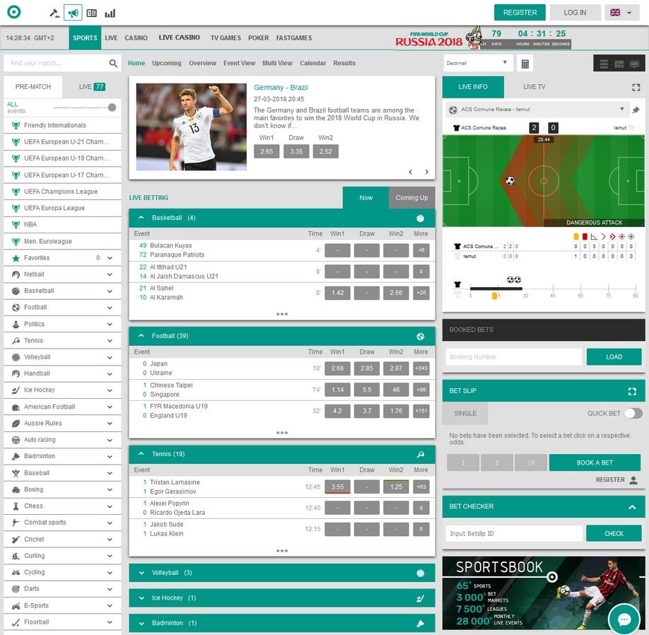 Danybet Review and €100 Sport Bonus - Top 100 Bookmakers