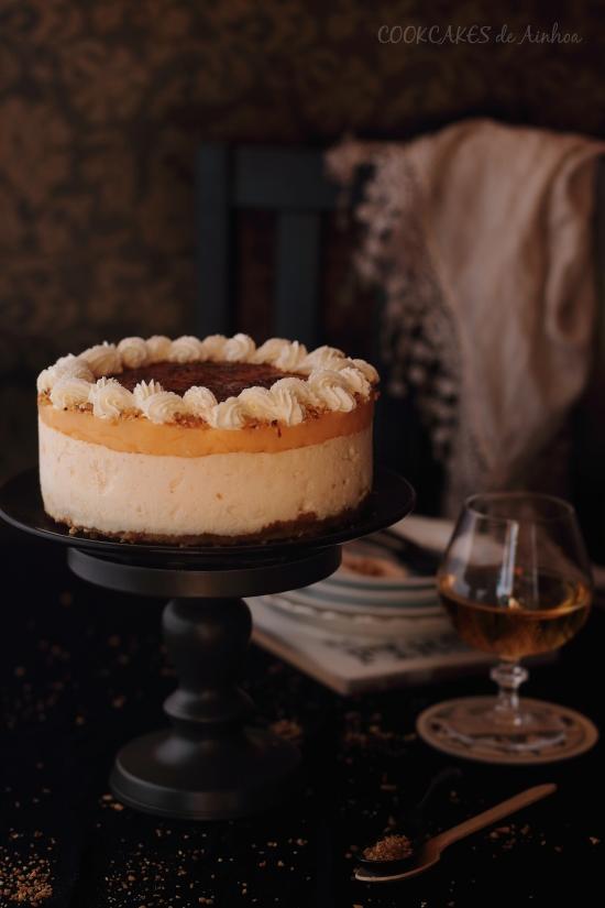 Tarta Helada de Whisky (sin horno)