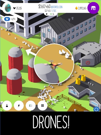 Download Egg Inc Mod Apk Unlimited Money dan Golden Egg