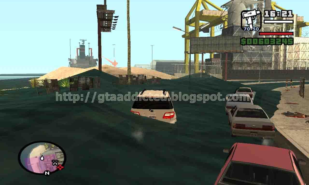 Cara Mod Tsunami dan Banjir di GTA San Andreas