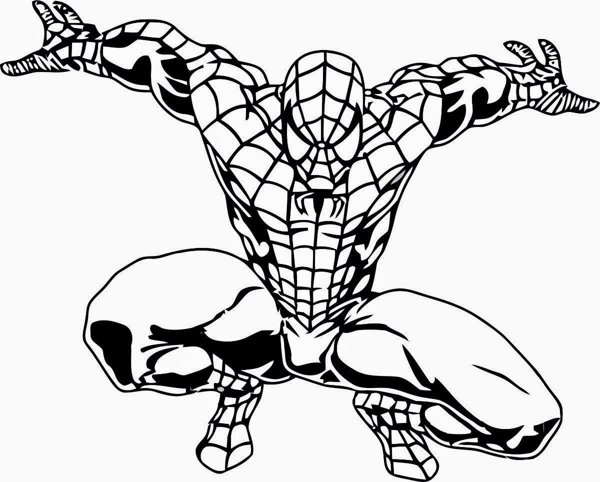 Desenhos Do Homem Aranha Preto